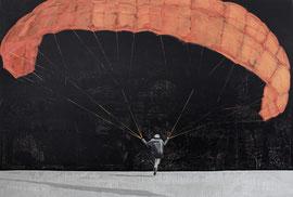 Thermik - Öl auf Leinwand - 150 x 220 cm - 2016