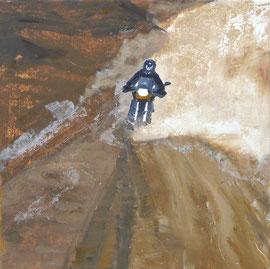 Wüste - Öl auf Leinwand - 35 x 35 cm - 2010