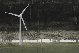 Windrad - Öl auf Leinwand - 60 x 90 cm - 2012