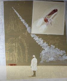 White Room - Öl auf Leinwand - 180 x 150 cm - 2017