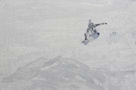 Air - Öl auf Leinwand - 60 x 90 cm - 2016