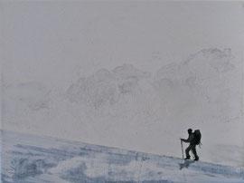 o.T. - Öl auf Leinwand - 30 x 40 cm - 2011