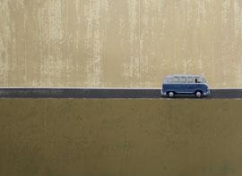 Bulli - Öl auf Leinwand - 110 x 150 cm - 2013