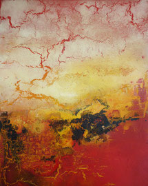 "Fabien Bruttin, ""Zao II"", 2013, 40x50 cm (15.7x19.7 in), technique mixte sur MDF"