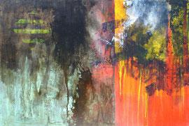 Fabien Bruttin, 2008-2009, technique mixte sur bois