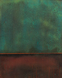 "Fabien Bruttin, ""Rothko's like I"", 2012, 40x50 cm (15.7x19.7 in), technique mixte sur MDF"