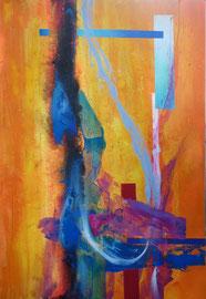 """Fabien Bruttin, """""""", 2011, 70x100 cm (27.5x39.4 in), technique mixte sur MDF"""