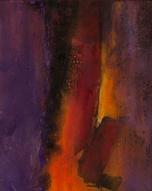 "Fabien Bruttin, ""Capsule"", 2012, 40x50 cm (15.7x19.7 in), technique mixte sur MDF"