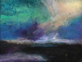 "Fabien Bruttin, ""Zao III"", 2014, 40x50 cm (15.7x19.7 in), technique mixte sur MDF"