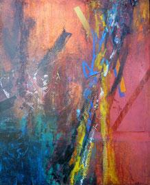 Fabien Bruttin, Untitled, 2010, 40x50 cm (15.7x19.7 in), technique mixte sur MDF