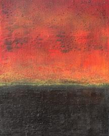 "Fabien Bruttin, ""Rothko's like III"", 2014, 40x50 cm (15.7x19.7 in), technique mixte sur MDF"