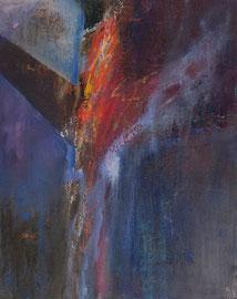 """Fabien Bruttin, """"Crash"""", 2012, 40x50 cm (15.7x19.7 in), technique mixte sur MDF"""