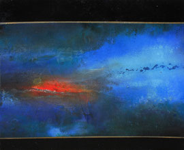 Fabien Bruttin, Untitled, 2014, 40x50 cm (15.7x19.7 in), technique mixte sur MDF