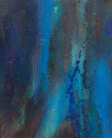 """Fabien Bruttin, """"Abyss"""", 2012, 40x50 cm (15.7x19.7 in), technique mixte sur MDF"""