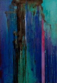 "Fabien Bruttin, ""Treanen"", 2012, 70x100 cm (27.5x39.4 in), technique mixte sur MDF"
