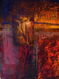 Fabien Bruttin, 2008-2009, 70x100 cm, technique mixte sur bois