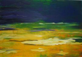 """Nr.   45    Acryl auf Leinwand 100 x 80 """"Sahara"""" verkauft"""