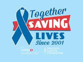 Logo Design for Prostate Cancer Foundation and The Safeway Foundation