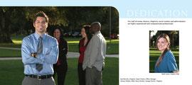 Folding Brochure Design & Photography - Inside Spread