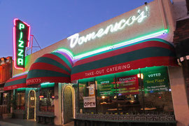 Exterior for Domenico's in Belmont Shore.