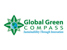 Logo Design for Global Green Compass
