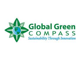 Logo Design for Global Green Compass