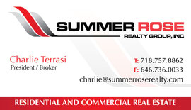 Business Card Design for Summer Realty