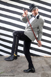 Musician Angelo Moore of Fishbone portrait