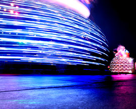 """From the series of photographs """"Lightscapes"""" by Kimberly F. Davis"""