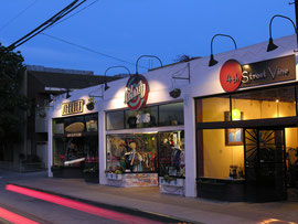 Boutique exteriors for the 4th Street Business Association.