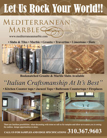 Ad Design for Mediterranean Marble