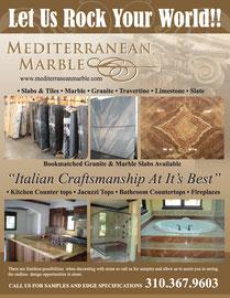 Ad Design for Mediterranean Marble