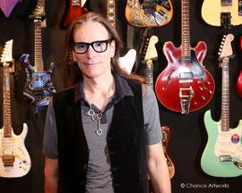 Guitarist Steve Vai portrait