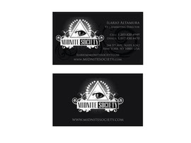 Business Card Design for Midnite Society