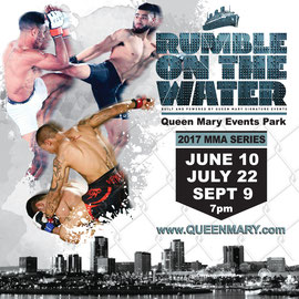 Flyer Design for Queen Mary Rumble on the Water MMA Series