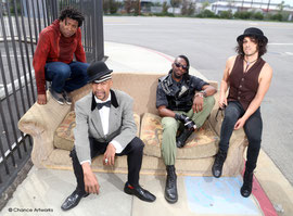 Angelo Moore and the Missin Links band portrait
