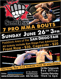 Flyer for Fight Club OC