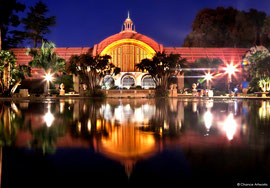 Botanical Building at Balboa Park in San Diego.