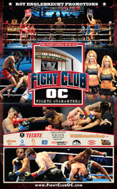 Fight Card for Fight Club OC - Back