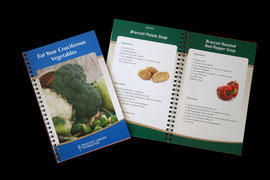 Eat Your Cruciferous Vegetables Recipe Booklet design for Prostate Cancer Foundation