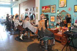 Salon Pop for the 4th Street Business Association.