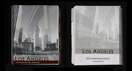 Report Covers designs for the LA County Department of Public Health