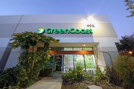 Exterior of Orange location for Green Coast Hydroponics.