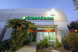 Exterior of Orange location for Green Coast Hydroponics.