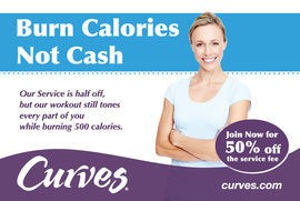 Ad Design for Curves