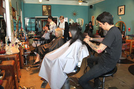 Salon Pop for the 4th Street Business Association.