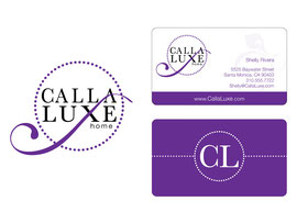 Logo and Business Card Designs for Calla Luxe