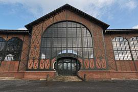 Eingang zur Maschinenhalle