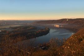Blick von der Hohensyburg über den Hengsteysee