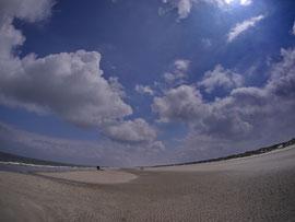Weiter Strand